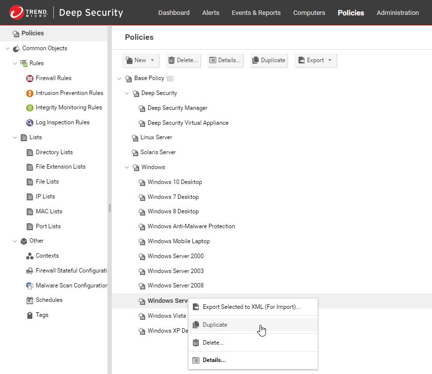 Protect Microsoft Azure Virtual Machines   Deep Security