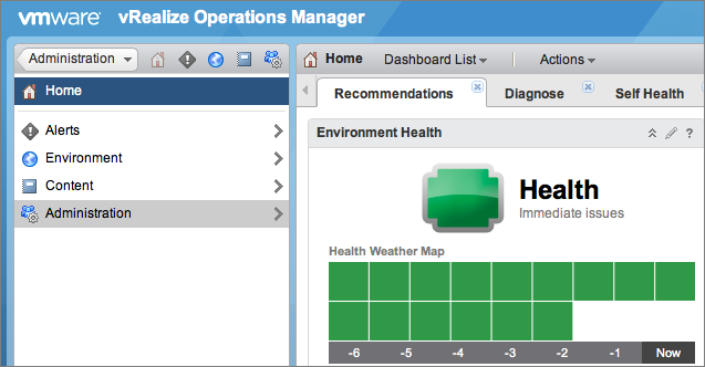 Integrate with VMware vRealize Operations Manager | Deep